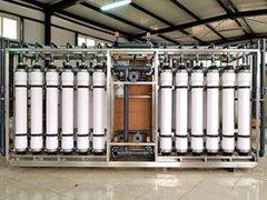 超滤膜系统产水流量变小是怎么回事